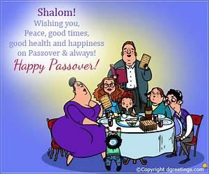 Shalom! Wishing you peace... Happy Passover