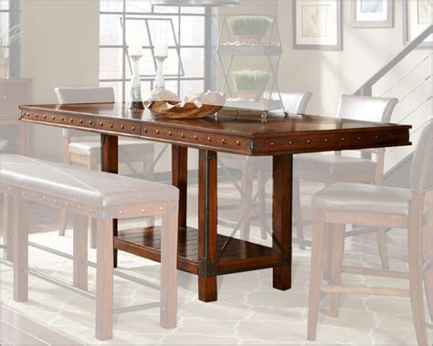 pdf diy counter height dining table plans country