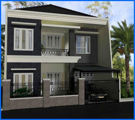 contoh desain rumah modern ukuran  yg