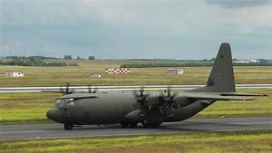 Royal Air Force C-130   2x Unites States Air Force Ac-130 Spooky Ii Takeoff