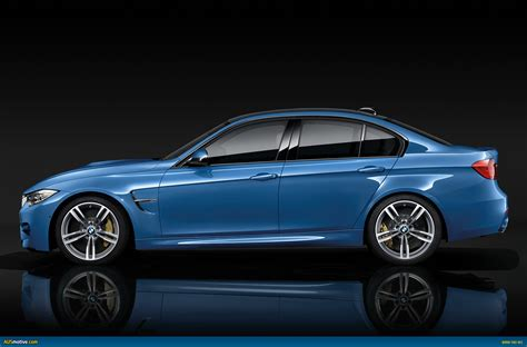 ausmotive com 187 2014 bmw m3 sedan and m4 coupe revealed