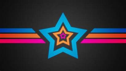 Star Background Colorful Bright Stripes