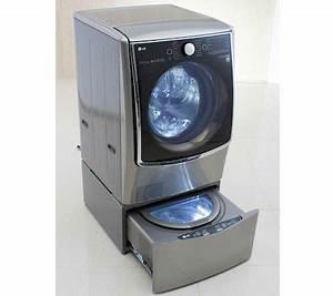 Mini Machine À Laver Sans Arrivée D Eau : ces 2015 lg twin wash mini lave linge pour laver en double cuve les num riques ~ Melissatoandfro.com Idées de Décoration