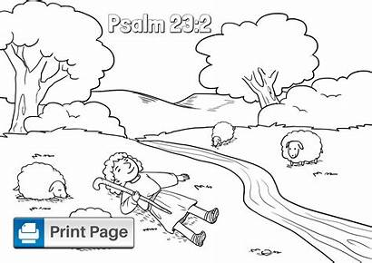 Psalm Coloring Down Lie Makes Printable Psalms
