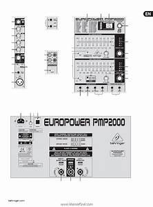 Behringer Europower Pmp 2000 Manual Pdf