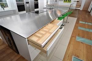 edelstahl arbeitsplatte fur die kuche die vor und nachteile With edelstahl arbeitsplatte küche