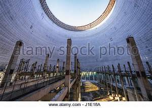 Inside the cooling tower of Chernobyl Nuclear Power Plant ...
