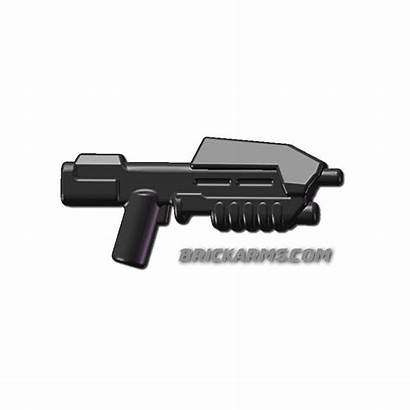 Assault Rifle Space Brickarms Fusils Sci Fi