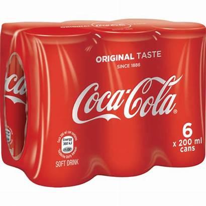Cola Coca Shoprite Cans 200ml Soft Za