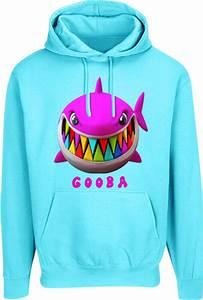 Light Blue Cotton T Shirt 6ix9ine Blue Shark Print Gooba Hoodie Incorporated Style