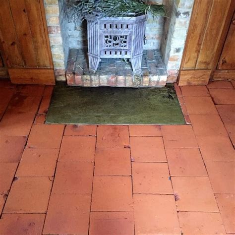 100 year quarry tiles revitalised in market weighton