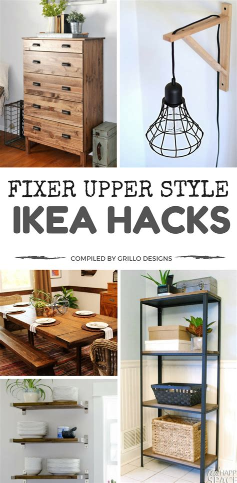farmhouse home designs 15 ikea hacks to add fixer style to your home
