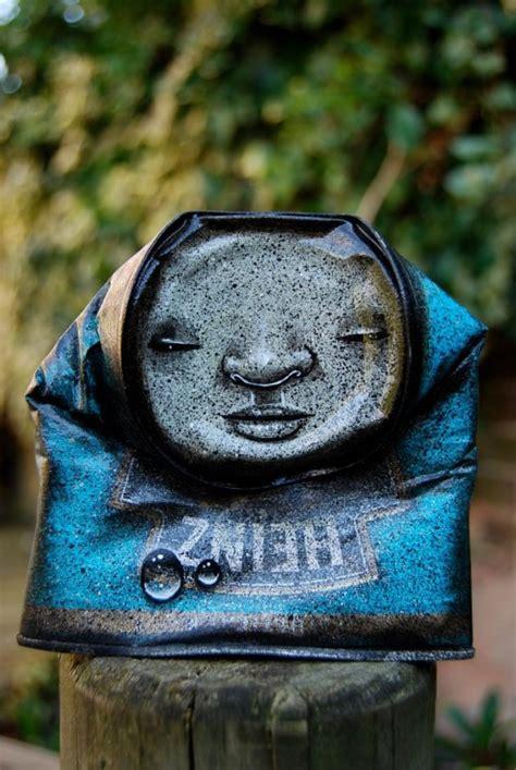 street art  tin cans   funcage