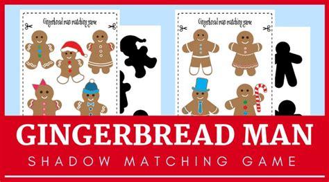 fun   gingerbread man activities  preschoolers