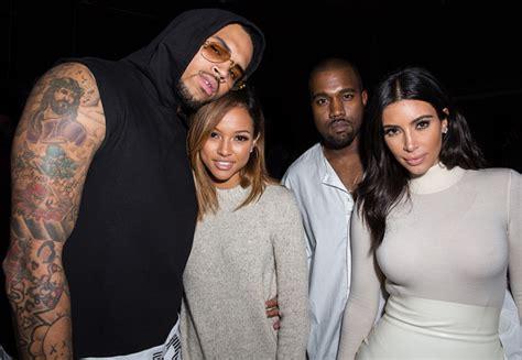 kim kardashian snubs karrueche tran star turned