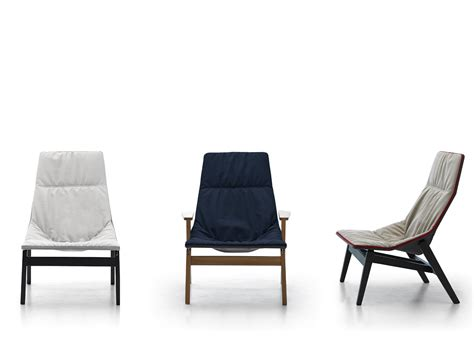 Ace Wood Armchair By Viccarbe Design Jean-marie Massaud