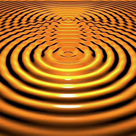 Circular Wave Interference Photograph by Russell Kightley