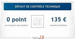 Amende Pour Defaut De Controle Technique : d faut de contr le technique amende sanctions points12 ~ Maxctalentgroup.com Avis de Voitures