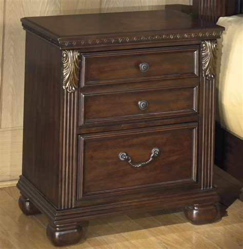 signature design  ashley leahlyn  drawer night stand