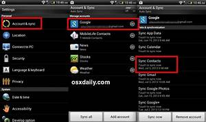 transfer contacts from android to iphone the easy way With google docs sync android