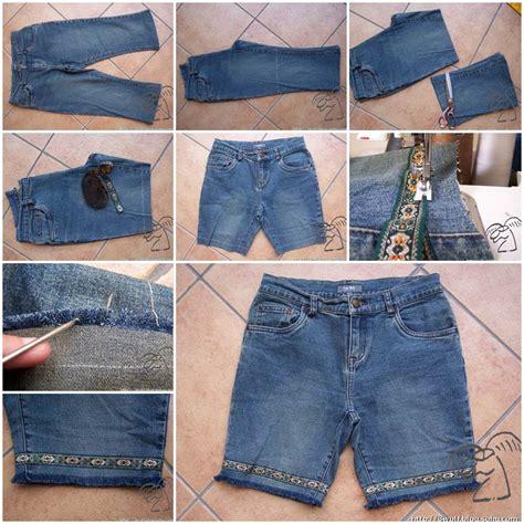 diy stylish shorts   jeans