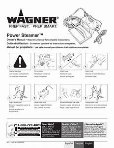 Wagner 705 Steamer User Manual