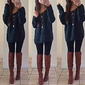 winter-outfit-ideas-with-boots | Tumblr