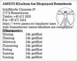 Tedox Bremerhaven öffnungszeiten : ameos klinikum am b rgerpark bremerhaven ffnungszeiten ~ Watch28wear.com Haus und Dekorationen