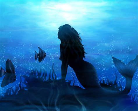 3d Mermaid Wallpaper Wallpapersafari