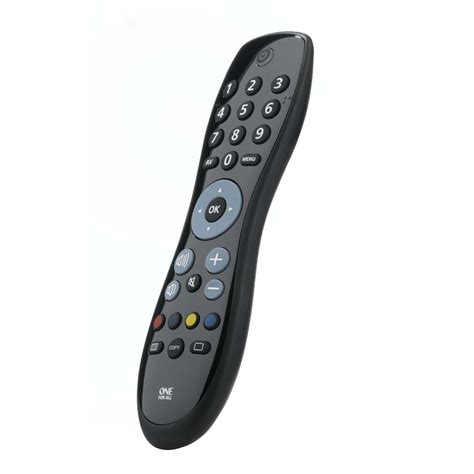 One For All Urc6410 Black Universal Simple Tv Replacement Remote Control New Ebay