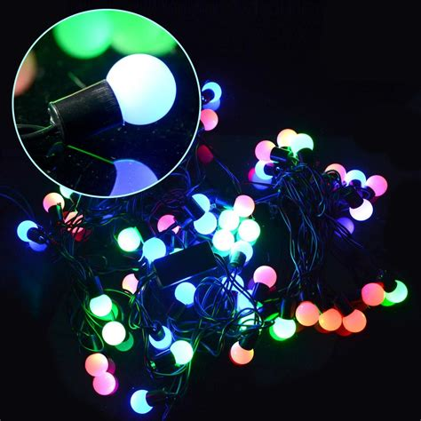 new christmas lights led light string color changing 50
