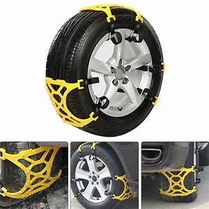 Chaine Pneu Voiture : 3 pcs voiture neige cha ne pneu pneu anti d rapant ceinture cha ne de s curit pneu roue cosse ~ Medecine-chirurgie-esthetiques.com Avis de Voitures