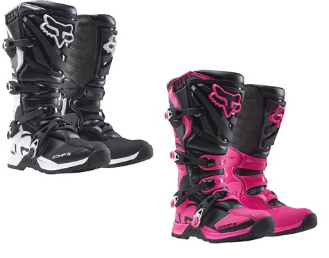 fox boots motocross fox racing womens youth all sizes colors comp 5 dirt