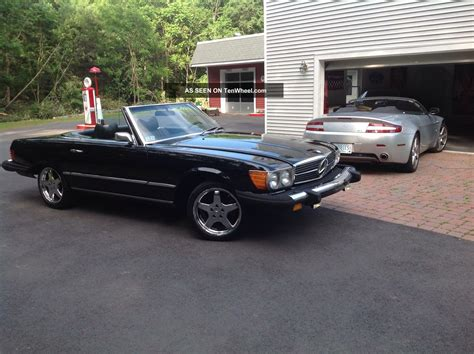 convertible mercedes black 1976 mercedes benz sl 450 2 door convertible roadster