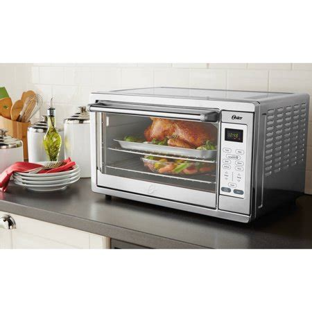 oster digital countertop oven with convection oster large digital toaster oven stainless steel