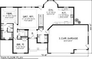 house plans ranch walkout basement house plan 73148 at familyhomeplans