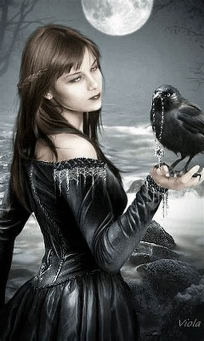 Gothic Goth Gifs Pagan Sombrio Funny Wicca