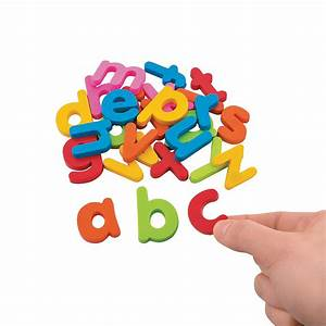 magnetic lower case letters oriental trading With magnetic lowercase alphabet letters