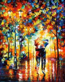 beautiful rain paintings growing up with god