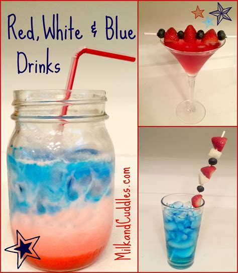 patriotic drinks 3 easy patriotic drink recipes red white blue everyday best