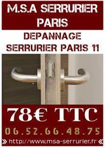 Serrurier paris 11 depannage serrurier 24h 24 for Depannage serrurier