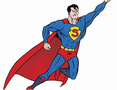 Powerful Clipart Transparent Superman Super Hero Cliparts