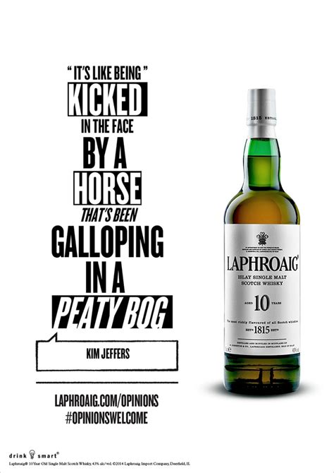 laphroaig scotch doesnt mind     tastes