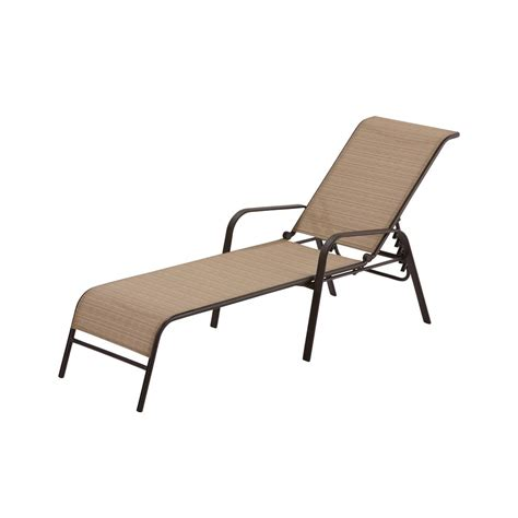 hton bay mix and match sling outdoor chaise lounge