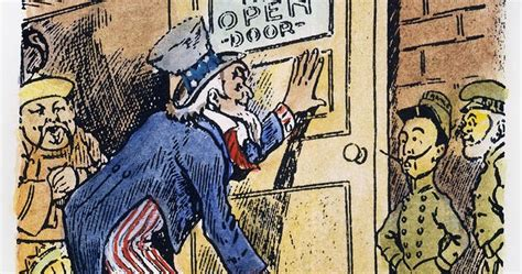 open door policy quater 3 project american imperialism through political