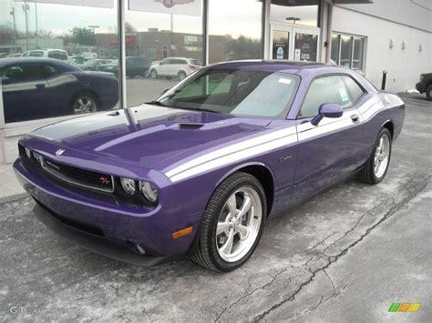 Plum Purple Challenger by 2010 Plum Purple Pearl Dodge Challenger R T Classic