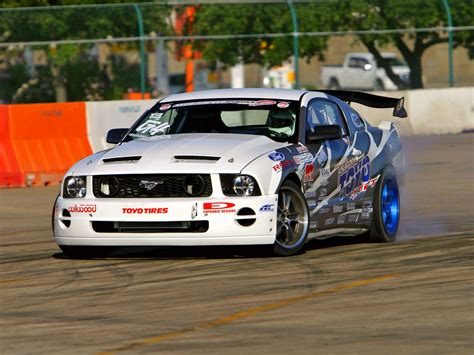 Ford Mustang Drift Wallpaper by Mustang Gt Formula Drift 2005 08 Hd Wallpaper