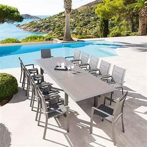 Table Jardin Hesperide. table de jardin extensible iceland graphite ...