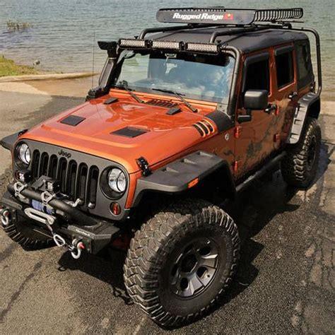 jeep wrangler rugged ridge hurricane flat fender