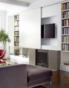Fernseher Verstecken Möbel : tv en open haard combineren home decor pinterest wohnzimmer m bel und fernseher ~ Markanthonyermac.com Haus und Dekorationen